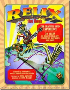 JBO Reviews RELIX, the Book: The Grateful Dead Experience by Toni Brown