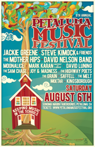 LATEST NEWS: 9th Annual Petaluma Music Festival Set for Saturday, August 6 – Jackie Greene, Steve Kimock, The Mother Hips and More!
